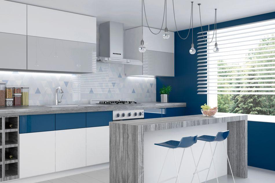 Ciekawy kolor w kuchni