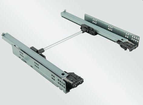 Prowadnice do szuflad drewnianych z regulacją 3D