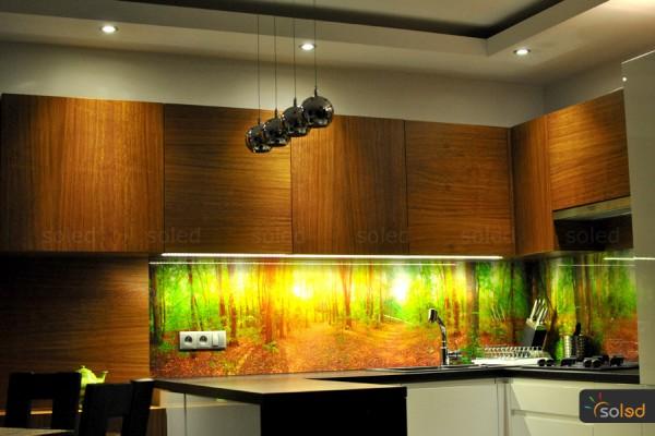 Zestaw LED oświetlenia kuchni SOLED
