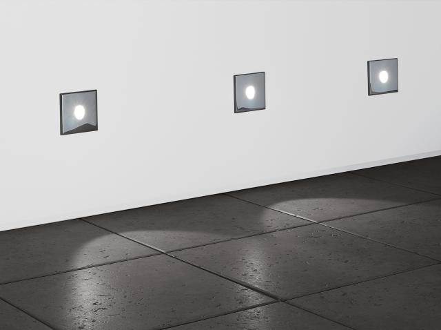 Oprawa Do Zabudowy Tango White Oświetlenie ściany Tuż Przy