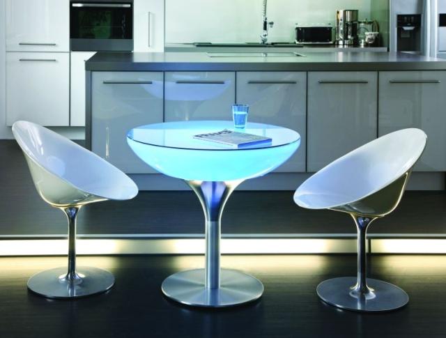 SOLED - stolik podświetlany LED do kuchni