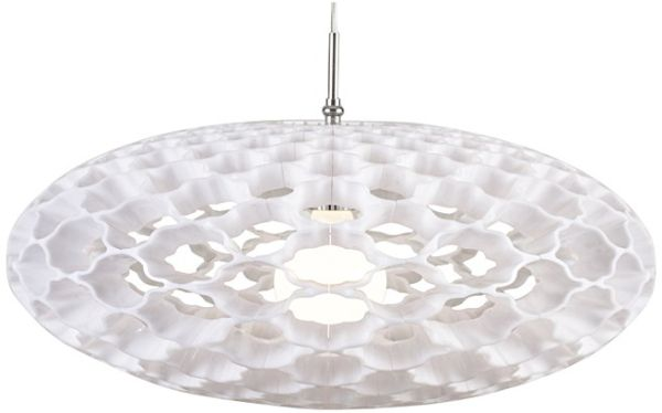 Nowoczesna Lampa Wisząca Ozcan 5329 2 Biała Fashion Lightpl