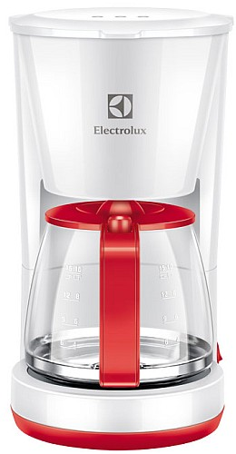 Przelewowy ekspres do kawy biało-czerwony EKF3230