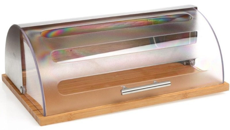 Bambusowy chlebak, pojemnik na pieczywo, 39x27x15 cm