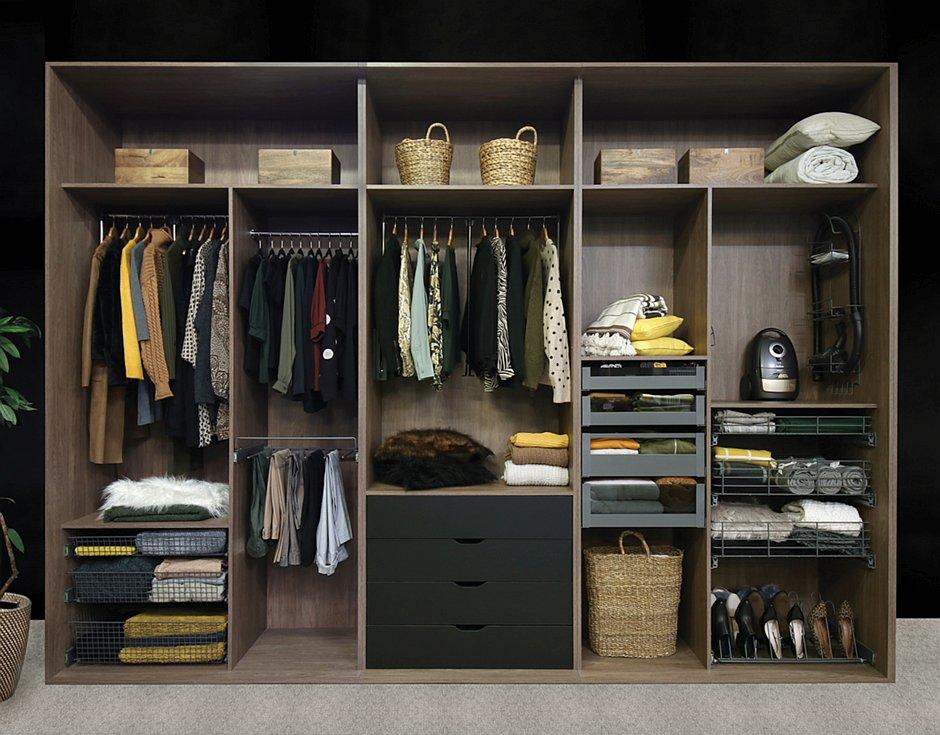 Wyposażenie garderoby REJS