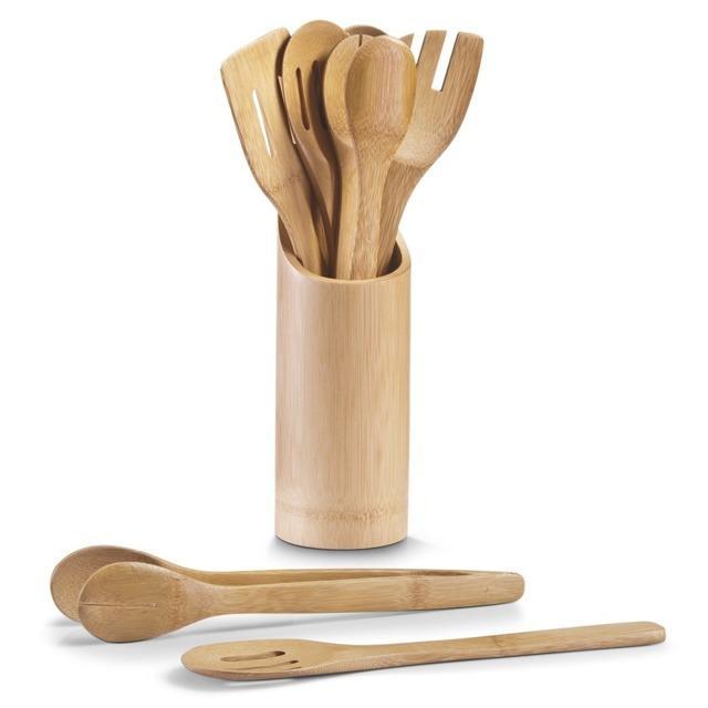 Bambusowy zestaw akcesoriów kuchennych, ZELLER