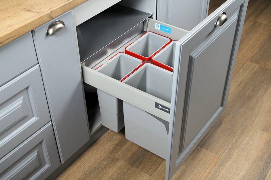 Comfort Box szuflada z pojemnikami na odpady REJS