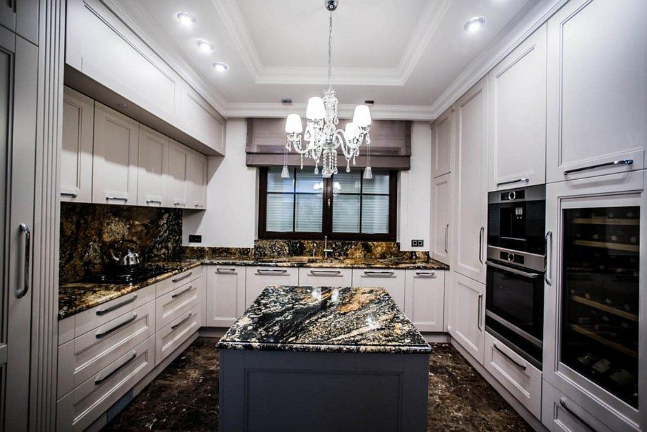 Granitowe blaty w kuchni