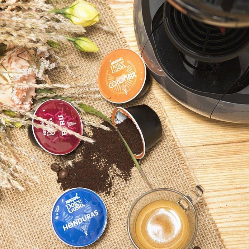 Kawy Dolce Gusto Origins organiczne: Colombia, Peru, Honduras