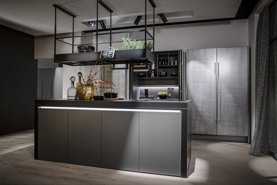 Pomysł na szare meble w kuchni