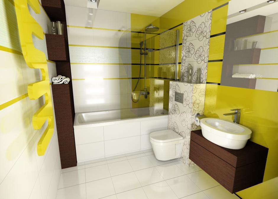 Projekt łazienki Wykonany W Module Ceramic Programu