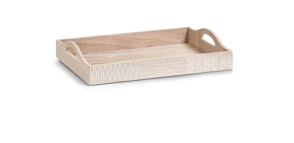 Drewniana taca śniadaniowa Nordic