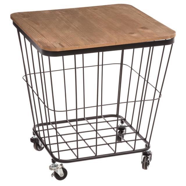 Wielofunkcyjny mobilny stolik na kółkach, wózek kuchenny ze schowkiem