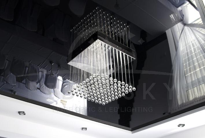 Żyrandol światłowodowy CUBE (1)