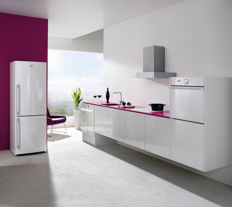 Kuchnia w kolorach bieli i różu  Gorenje  kuchnia w   -> Kuchnia Gazowa Gorenje Opinie