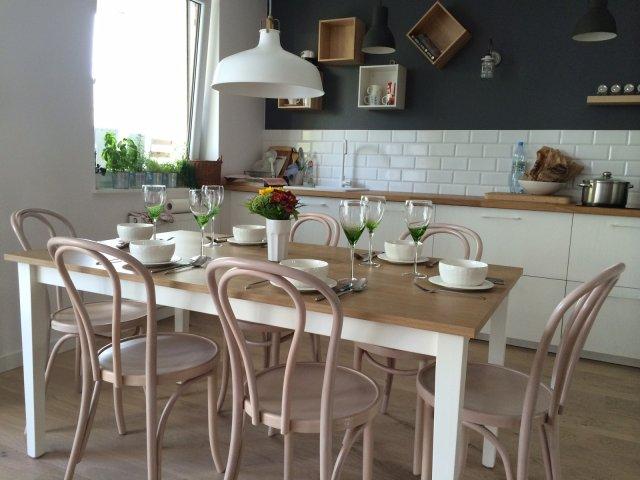 Płytki cegiełki w kuchni  ściany i podłogi  Kuchenny com pl -> Castorama Kuchnia Plytki