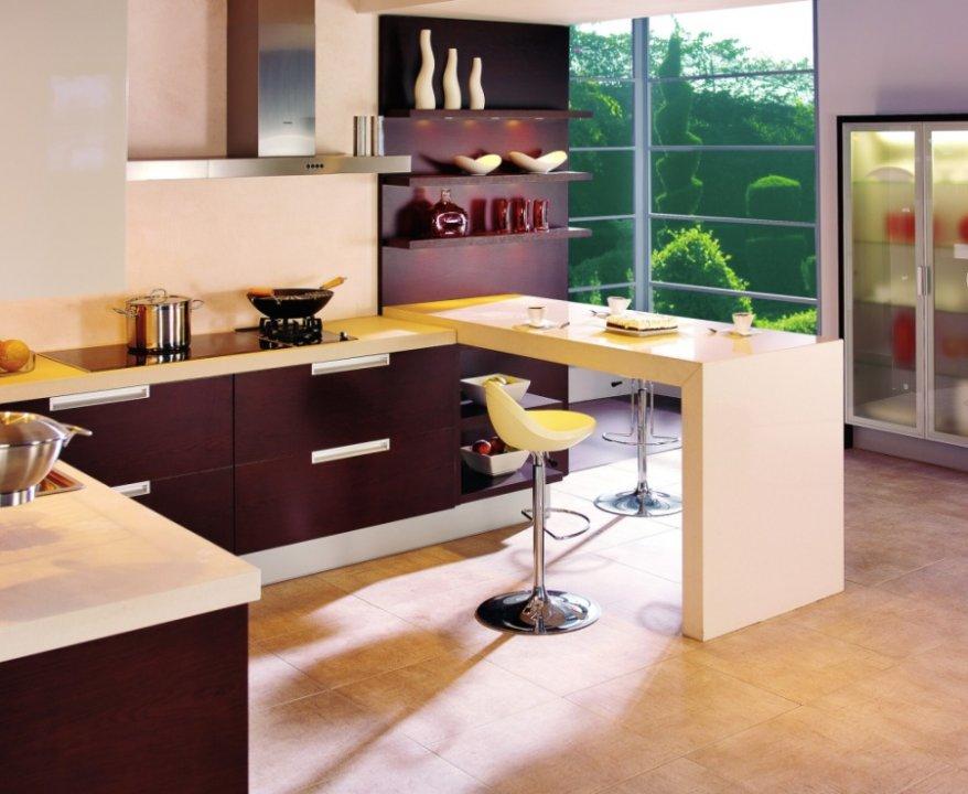 Aranżacja kuchni  Meble Rust  kuchnia otwarta na salon  inspiracje  aranż   -> Salon Kuchnie Rust