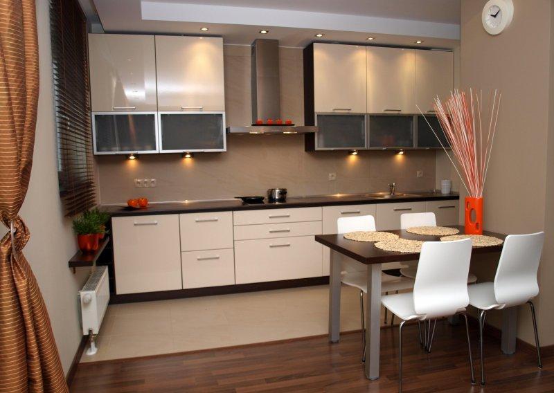 Aranżacja małej kuchni  Luxum  aranżacje małych kuchni   -> Inspiracje Kuchni Malej
