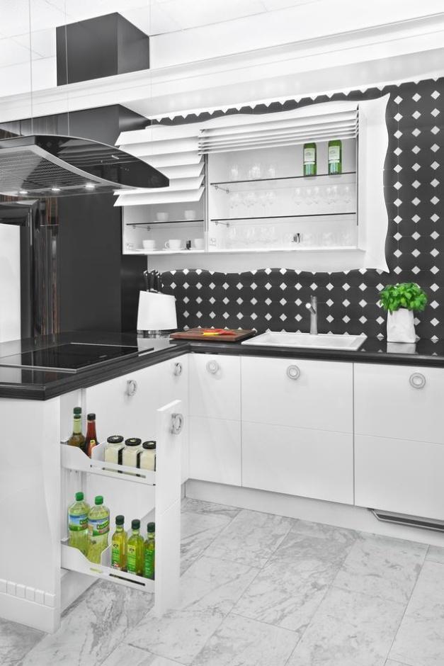 Aranzacja małej kuchni  Peka  aranżacje małych kuchni   -> Inspiracje Kuchni Malej