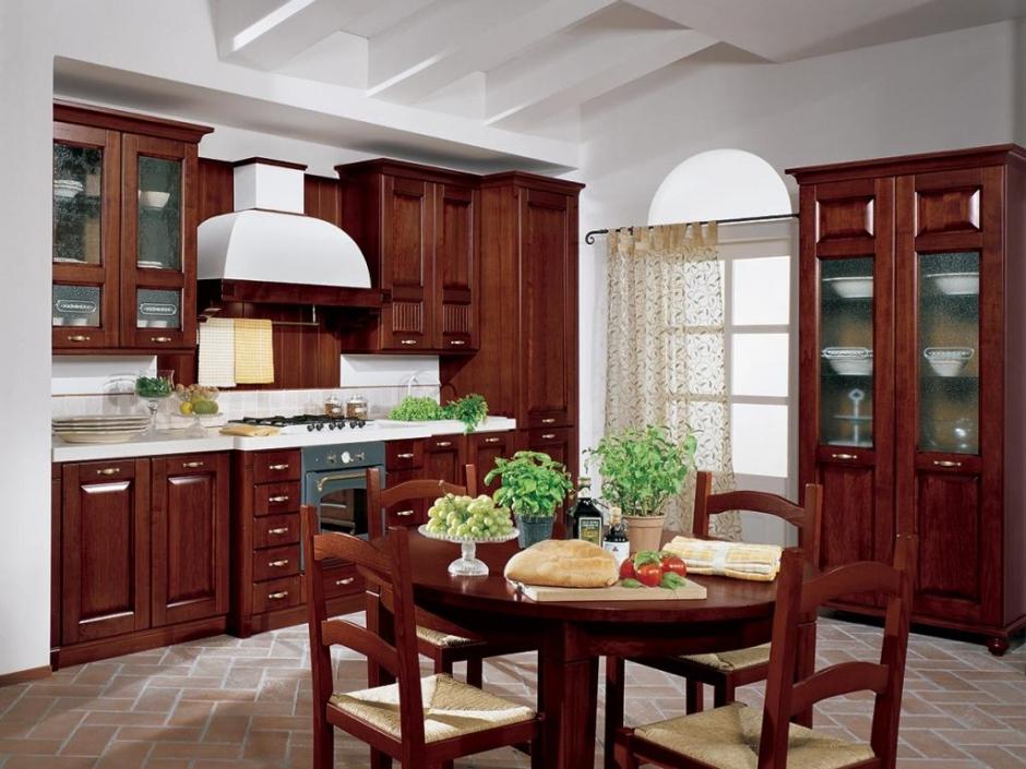 Aranżacja klasycznej kuchni  Rad  Pol  kuchnia otwarta na salon  inspirac   -> Kuchnia Pol Otwarta