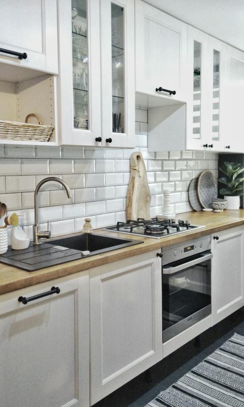 Aranżacja kuchni w bieli