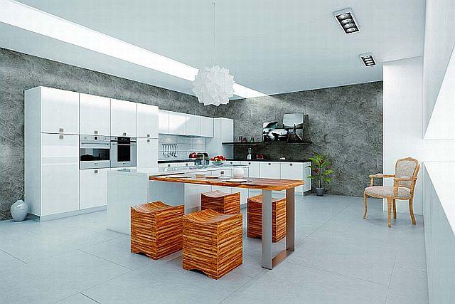 Stiuk wapienny w kuchni