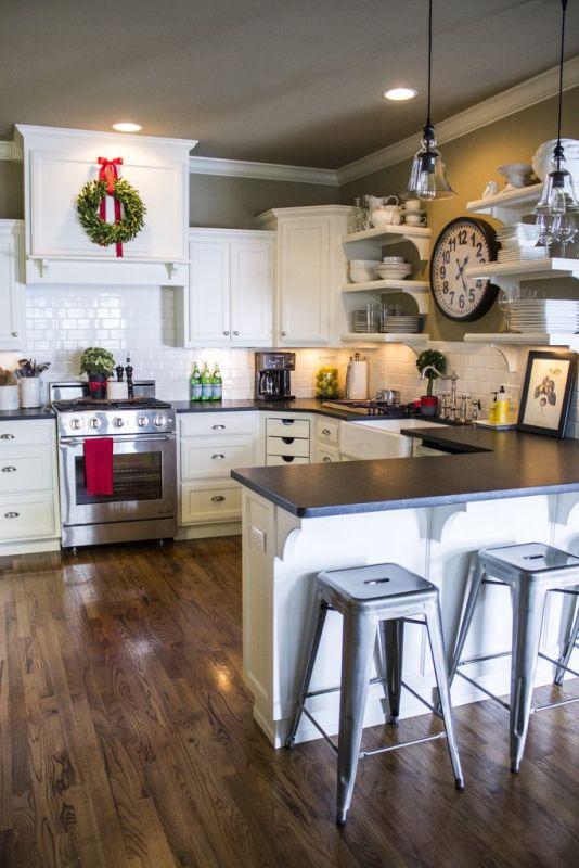 Aranżacje Kuchni Zdjęcie Drobne świąteczne Elementy