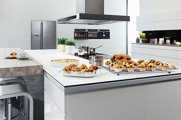 Jaki okap do kuchni z wyspą  sprzęt AGD  Kuchenny com pl -> Kuchnia Amica Czy Electrolux