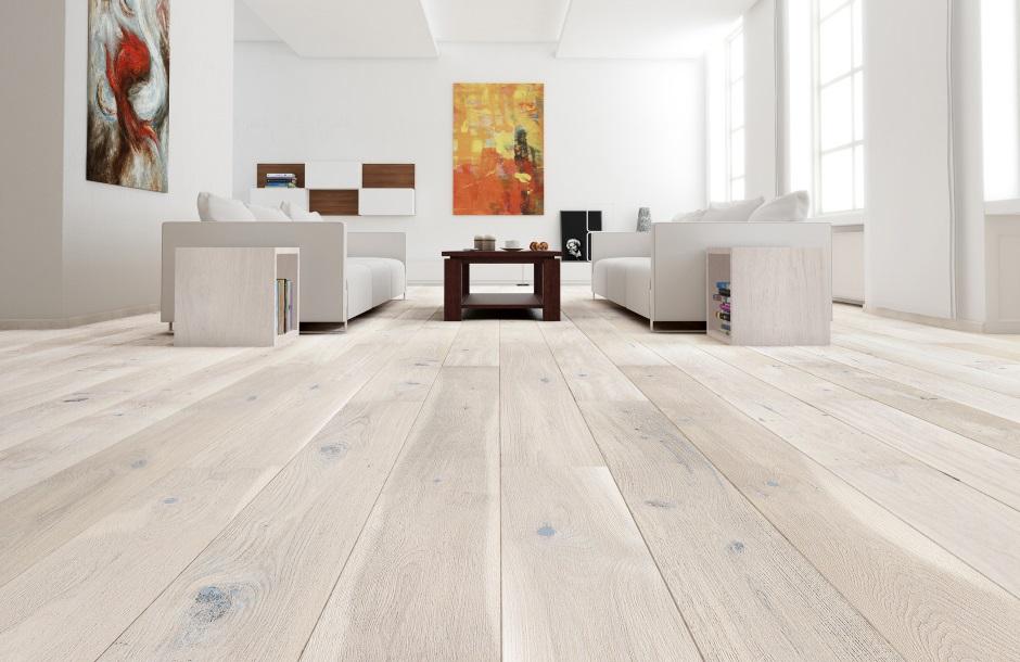 Drewniana Podoga W Salonie Db Gentle Kolekcja Senses