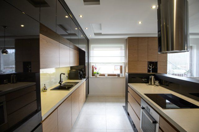 Blat w kuchni  pomysły na praktyczne rozwiązania  projekty kuchni  Kuchenn