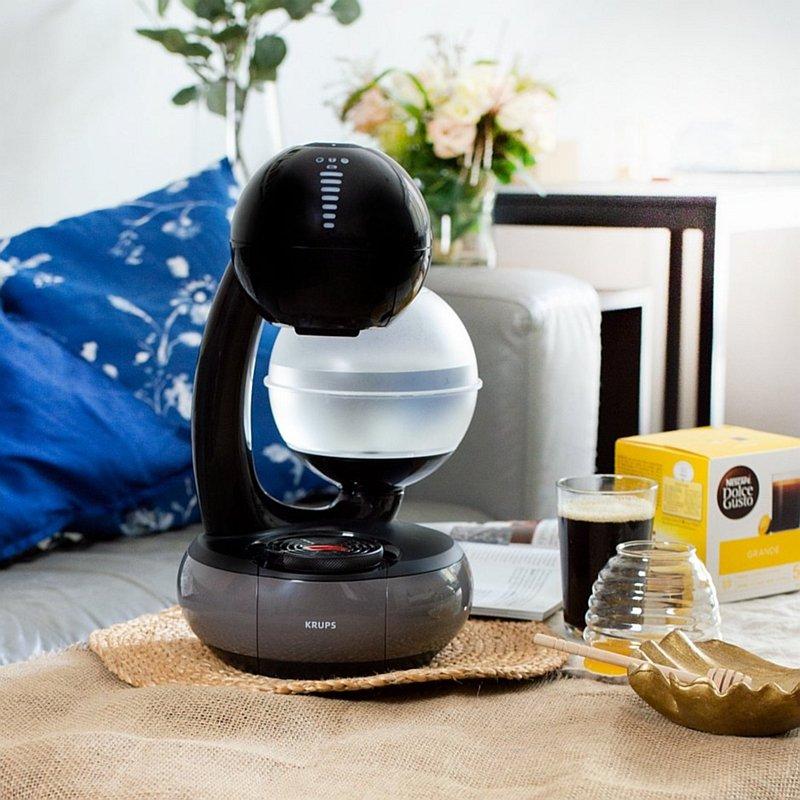 Ekspres kapsułkowy Esperta Dolce Gusto oraz kawa Grande