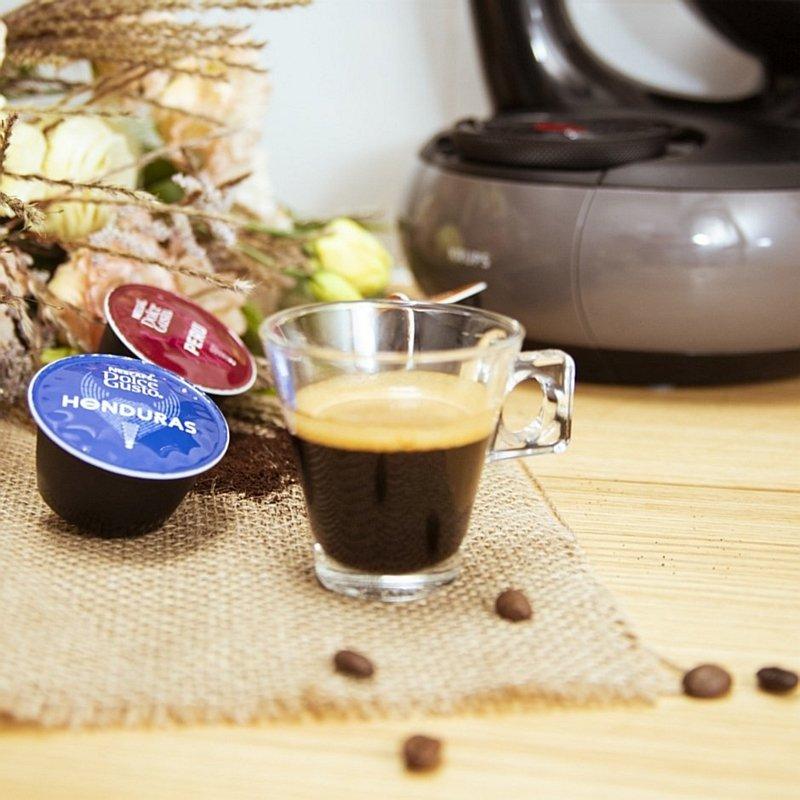 Kawa organiczna Honduras oraz Peru Dolce Gusto