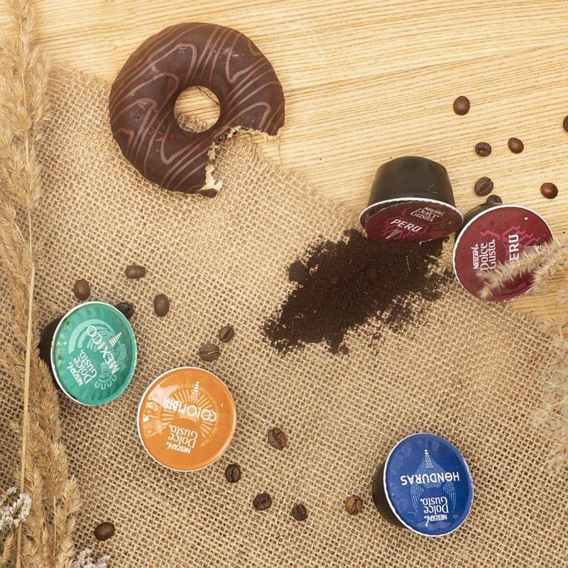 Kawy Dolce Gusto Mexico, Colombia, Honduras oraz Peru
