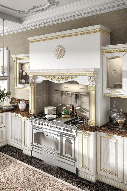 Kuchnia Imperial Bianco Oro