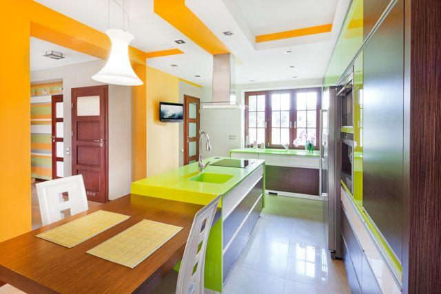 Sufit W Kuchni Projekty Kuchni Kuchennycompl