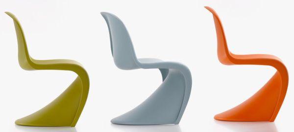 Stylowe krzesła - Panton
