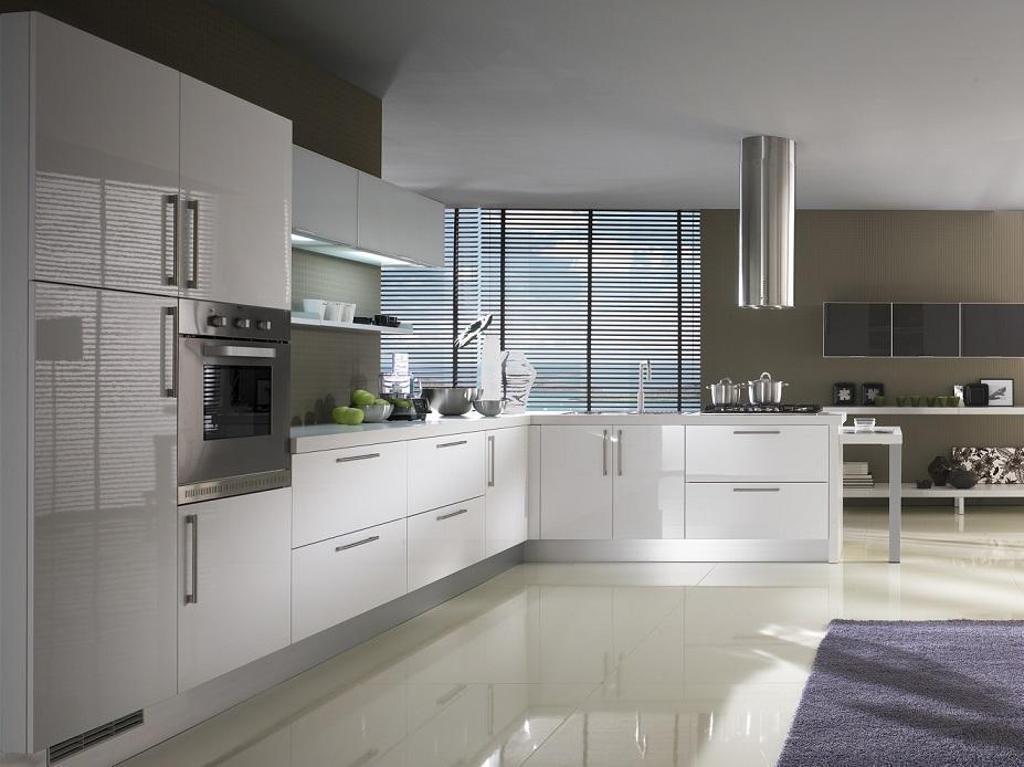 Kuchnia Lux Bianco - Cucina Moderna