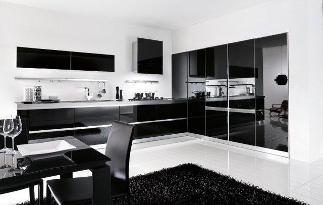 Kuchnia nowoczesna Lux Nero