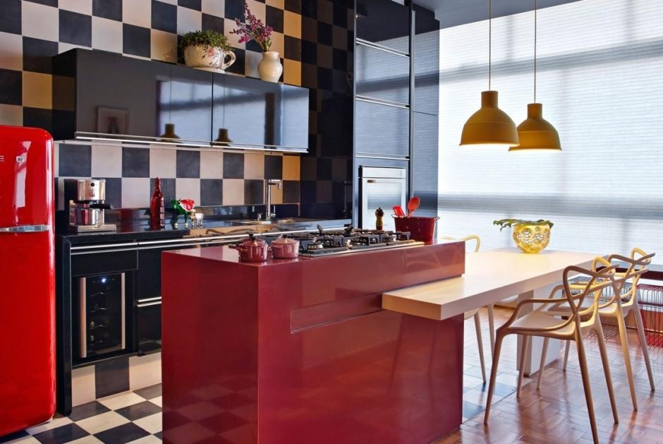 Aran acja kuchni otwartej z wysp kuchnia otwarta na for Kuchnia z salonem aranzacje