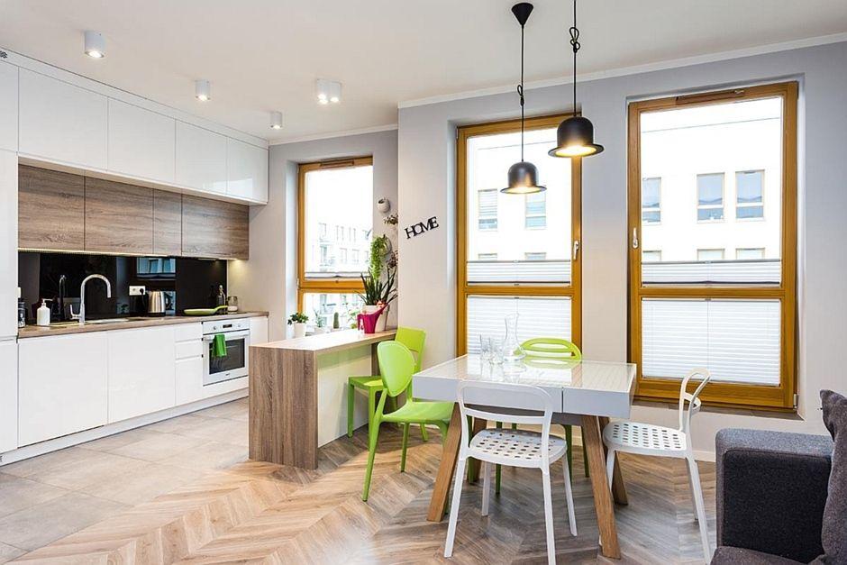 Kuchnia W Bloku Otwarta Na Salon Kuchnia W Bloku Inspiracje