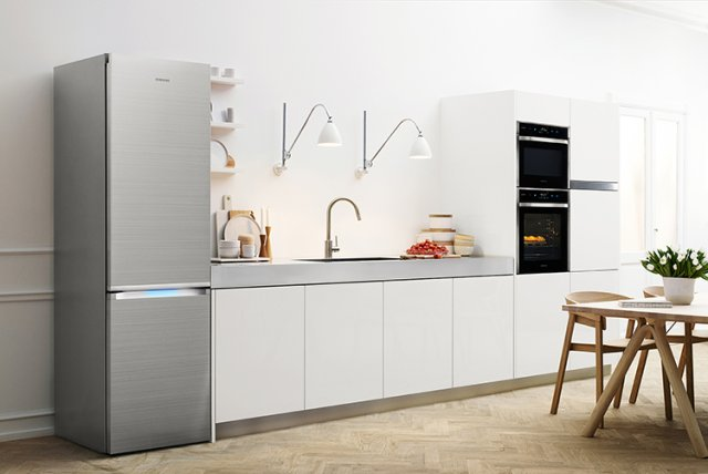 Lodówka Samsung SpaceMax  idealne rozwiązanie do każdej kuchni  Samsung  s   -> Kuchnia Elektryczna Do Zabudowy Samsung