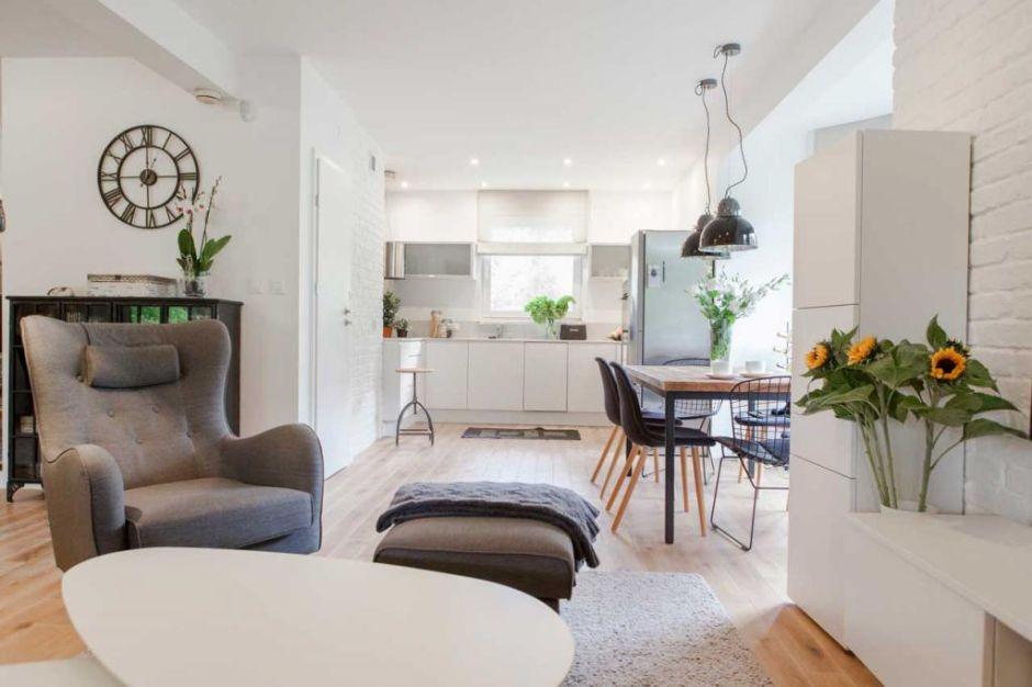 Mała kuchnia otwarta na salon  aranżacje małych kuchni  inspiracje  aranża