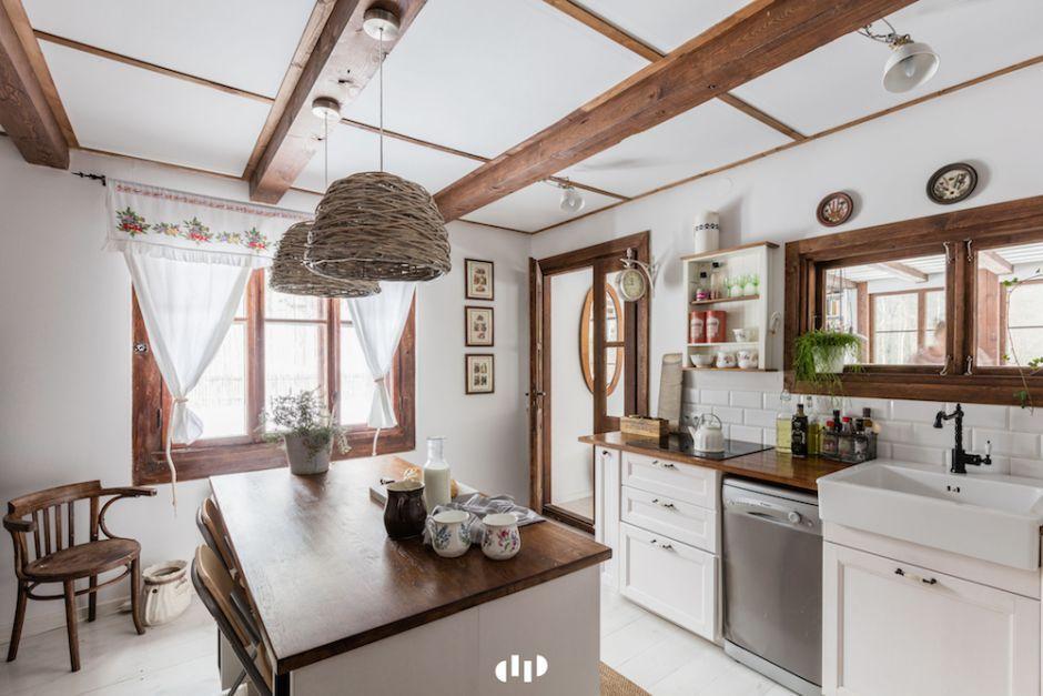 Mała Kuchnia W Stylu Wiejskim Aranżacje Małych Kuchni