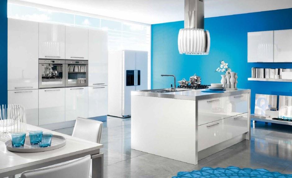 Lucenta Seta - meble kuchenne z frontami lakierowanymi na wysoki połysk