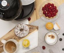 Ekspres kapsułkowy Esperta Dolce Gusto oraz kawy Latte Mocchiato, Grande