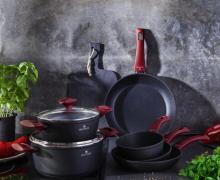 Kolekcja naczyń kuchennych Valdinox Red