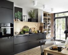 Idealna Kuchnia Z Black Red White Projekt W 5 Krokach Meble