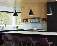 Meble kuchenne z akrylowymi frontami RAUVISIO brilliant mat