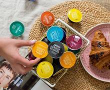 Różne rodzaje kaw kapsułkowych Dolce Gusto