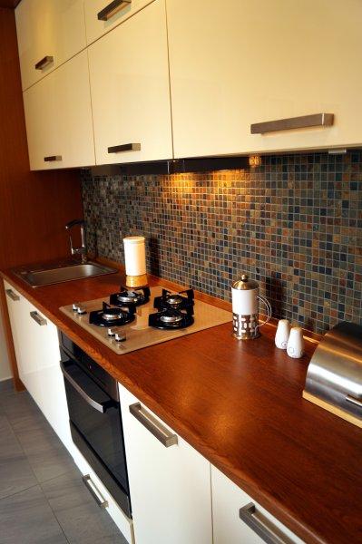 Mozaika w kuchni  ściany i podłogi  Kuchenny com pl -> Kuchnia Plytki Mozaika